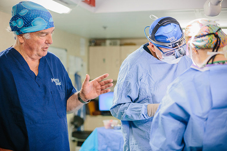 dr gary parker under operation
