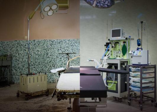 sjukhus efter renovering