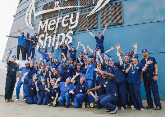 Mitarbeiten Medizinisches Team Gruppenfoto