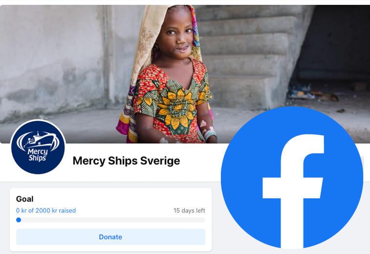 Starta en egen insamling på Facebook